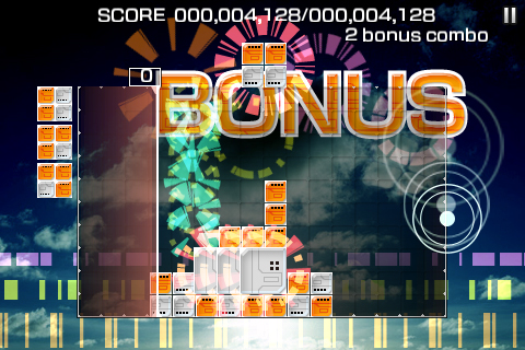 Screenshot LUMINES™ – Touch Fusion Lite