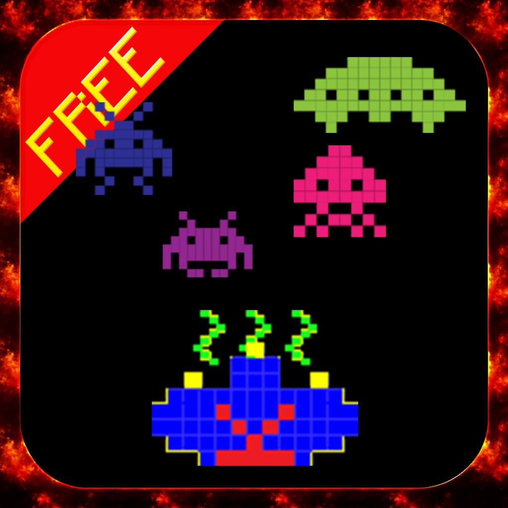 8 Bit Alien Invaders FREE